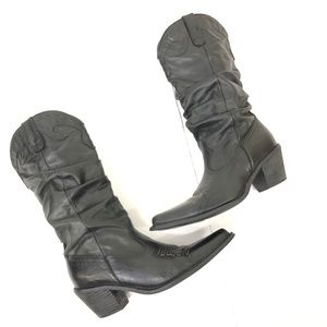 Steve Madden Saddle cowgirl boots Size 6
